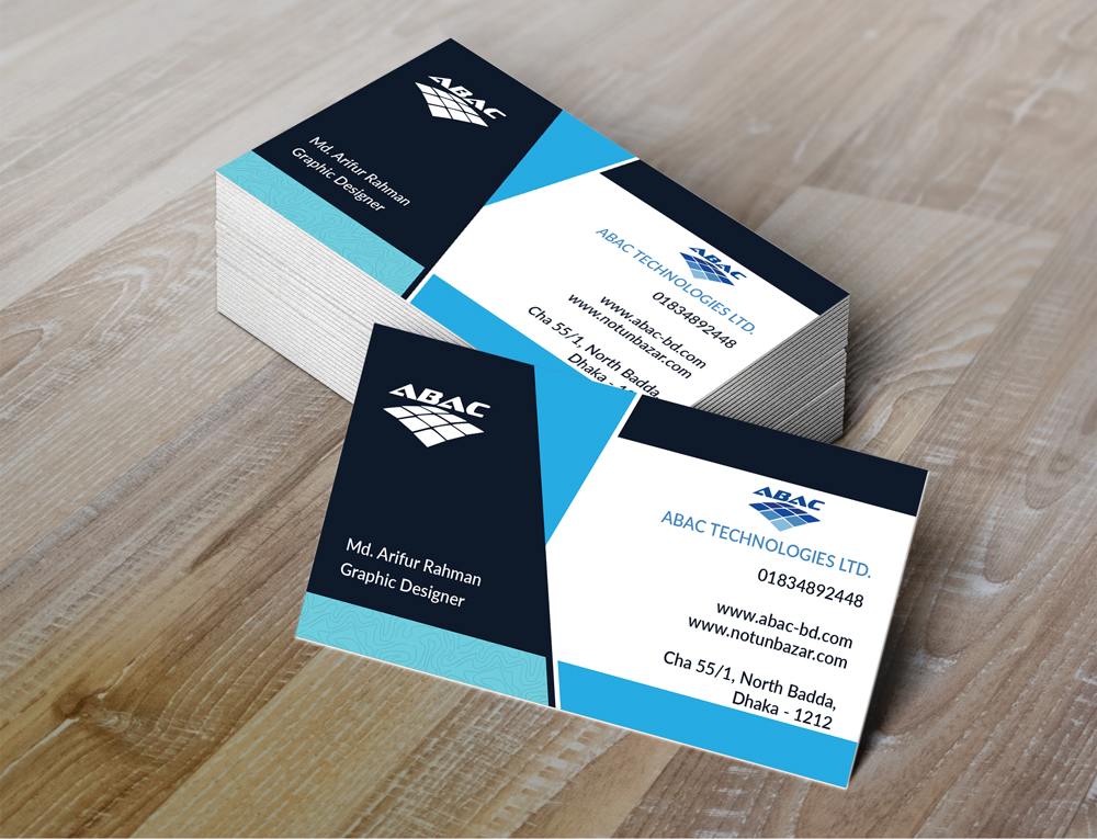 ABAC Business Cards MockupUp