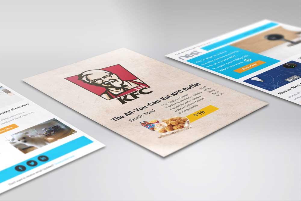 KFC Flyer